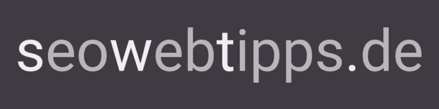 """Titelbild der Seite """"seowebtipps"""" von Alexander Venn - Viele Webtipps und Ressourcen für SEO-Anfänger und Profis"""
